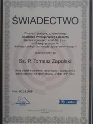 Świadectwo Lindab-0737