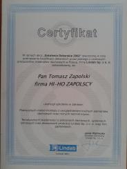 Certyfikat Lindab Click
