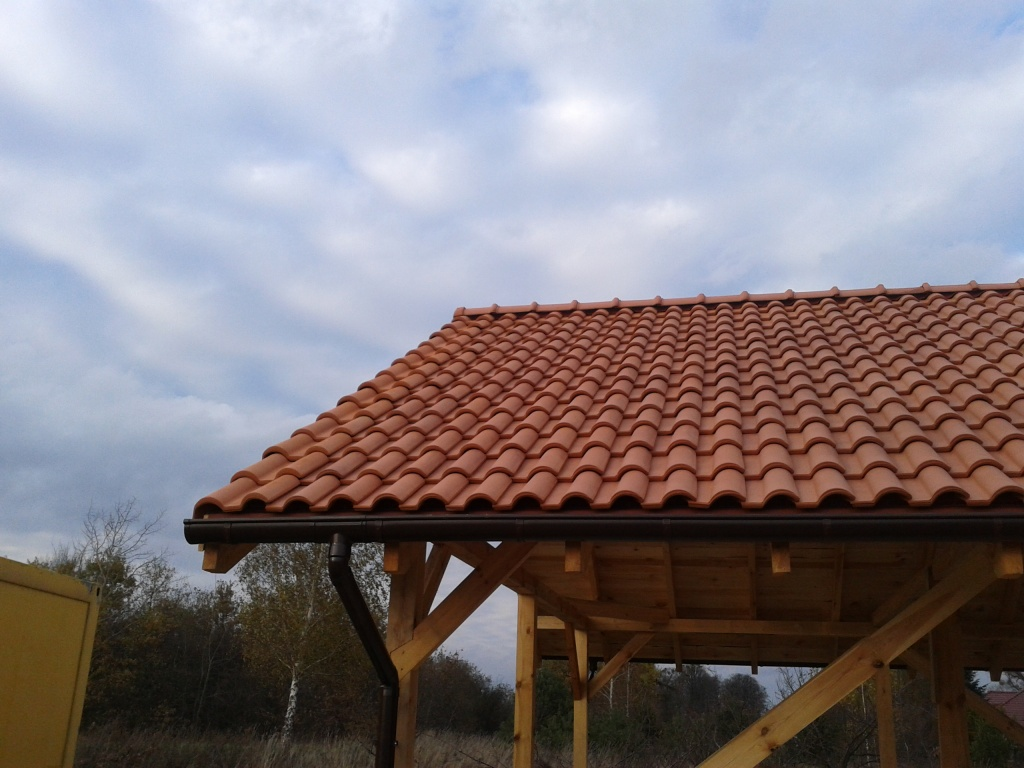 dachówka ceramiczna zapolski dachy portugalka ładna piękna dachówki piękne