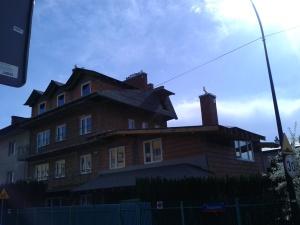 Dach przed rozpoczęciem prac.