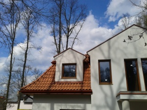 staroklasztorna dachówka naturalna ładna równa