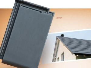 dachówka ceramiczna płaska Walencja domino piano dachówki ceramiczne płaskie dachowki dachowka