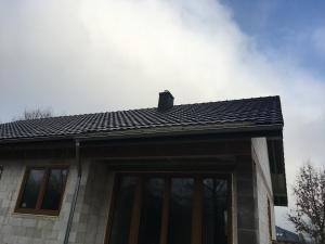 dachówka dachówki ceramiczna reńska hugenotka antracytowa czarna antracytowe