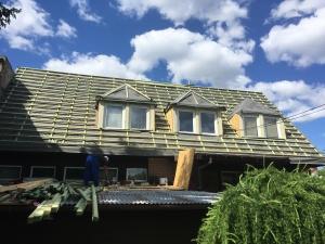 płyta PIR poliizocyjanurat dach dachówka dachy remont dachu warszawa